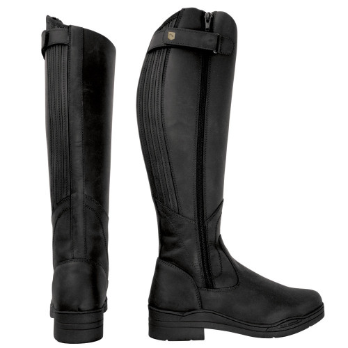 HyLAND Londonderry Winter Country Riding Boots in Black size 36