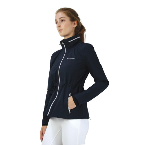 Hy Equestrian Synergy Rain Jacket - Navy - X Small