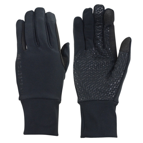 Hy Equestrian Snowstorm Riding and General Glove in Black in extra small