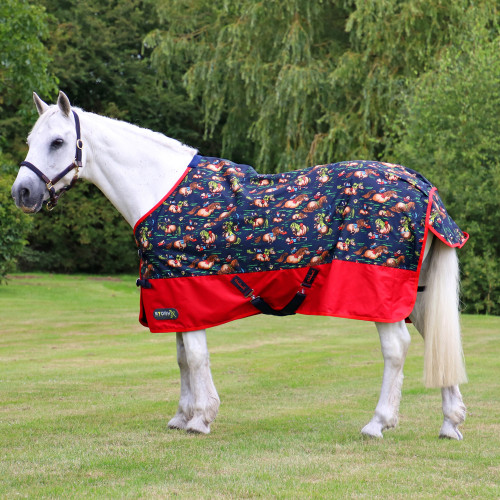StormX Original 0 Turnout Rug in the Thelwell Collection in 4'6""
