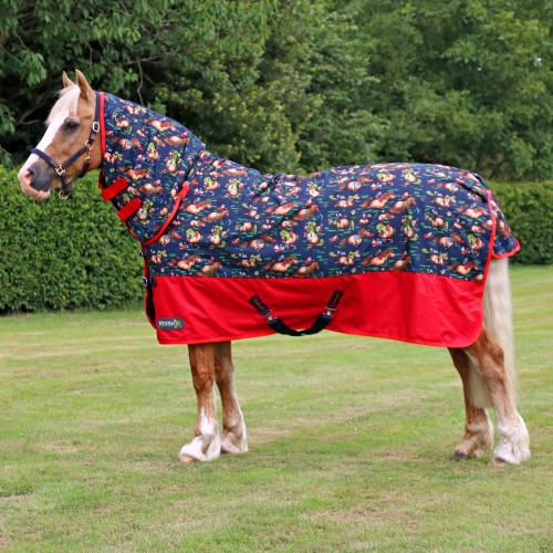 StormX Original 200 Combi Turnout Rug in the Thelwell Collection in 4'6""