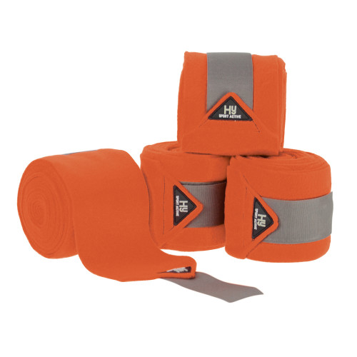 Hy Sport Active Luxury Bandages-Terracotta Orange-Cob/Full