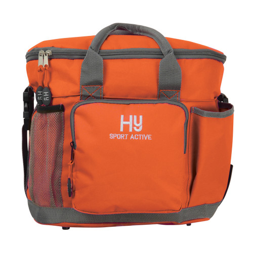 Hy Sport Active Grooming Bag -Terracotta Orange-One Size