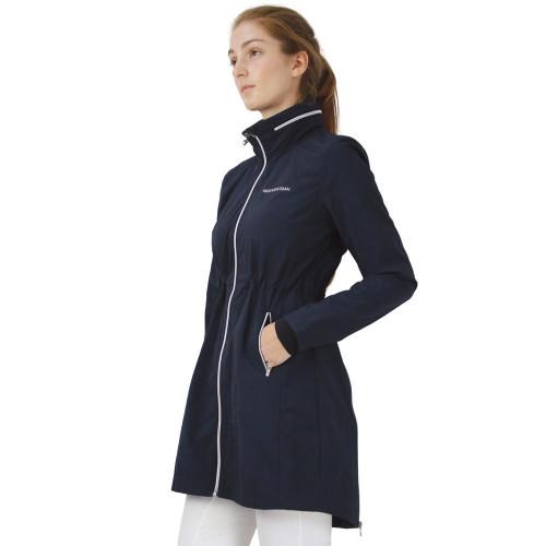Hy Equestrian Synergy Long Rain Jacket - Navy - X Small