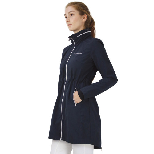 Hy Equestrian Synergy Long Rain Jacket - Navy - X Small