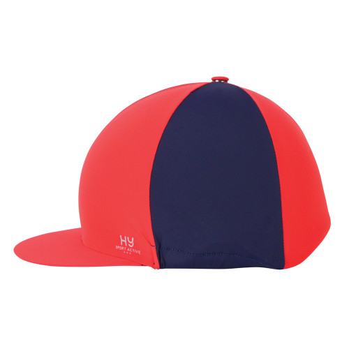 Hy Sport Active Hat Silk -Rosette Red-One Size