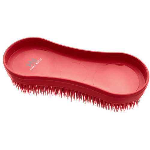 Hy Sport Active Miracle Brush -Rosette Red-One Size