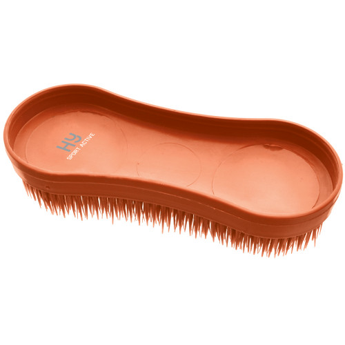 Hy Sport Active Miracle Brush -Terracotta Orange-One Size