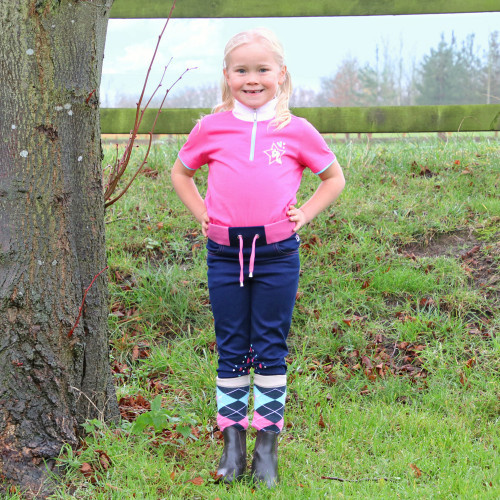 I Love My Pony Collection Show Shirt by Little Rider - Pink - 3-4 Years
