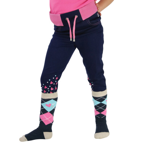 I Love My Pony Collection Denim Pull-Ons by Little Rider - Blue - 3-4 Years