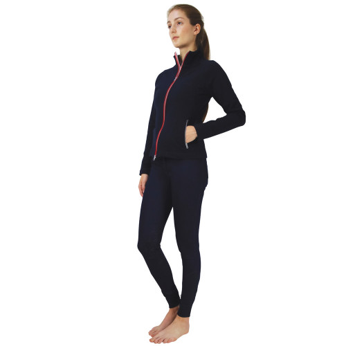 Hy Equestrian Richmond Collection Jacket -Navy/Red-X Small