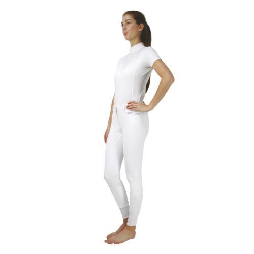 Hy Equestrian Roka Rose Show Shirt -Navy-X Small