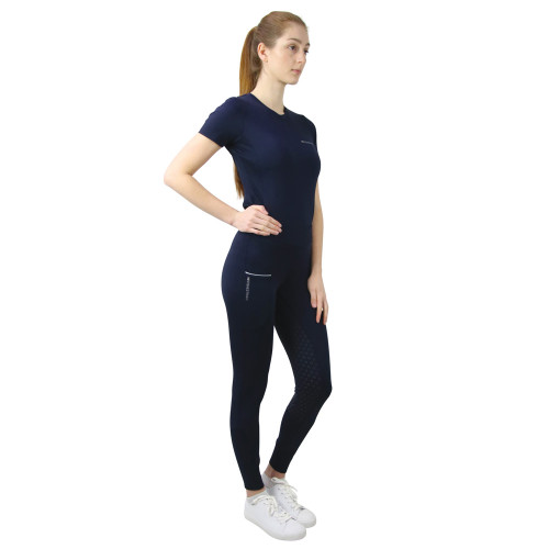Hy Equestrian Synergy Riding Tights - Navy - X Small