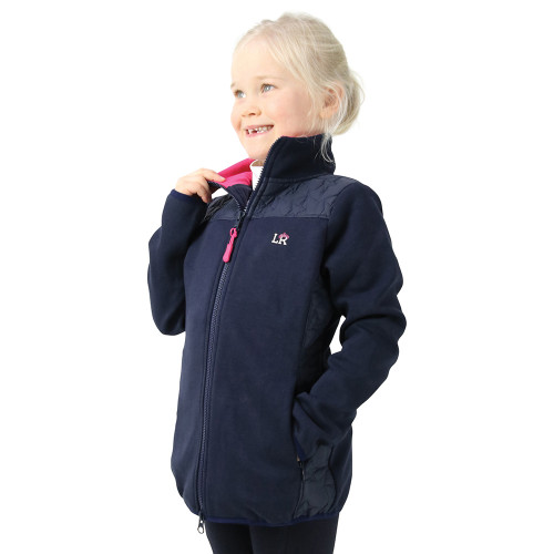 Sophia Jacket by Little Rider - Navy/Pink - 3-4 years