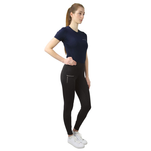 Hy Equestrian Synergy T-Shirt - Navy - X Small
