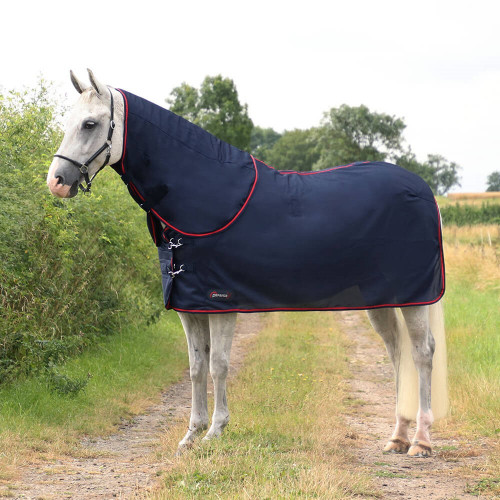 """DefenceX System WicX Cooler Rug with Detachable Neck Cover - Navy/Red - 5'6"""""""