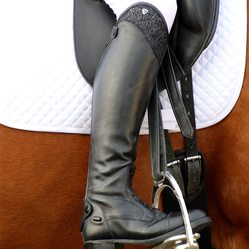 Hy Equestrian Erice Riding Boot -Black-36