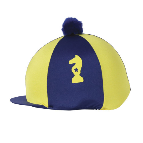 Lancelot Hat Cover by Little Knight - Navy/Yellow - One Size