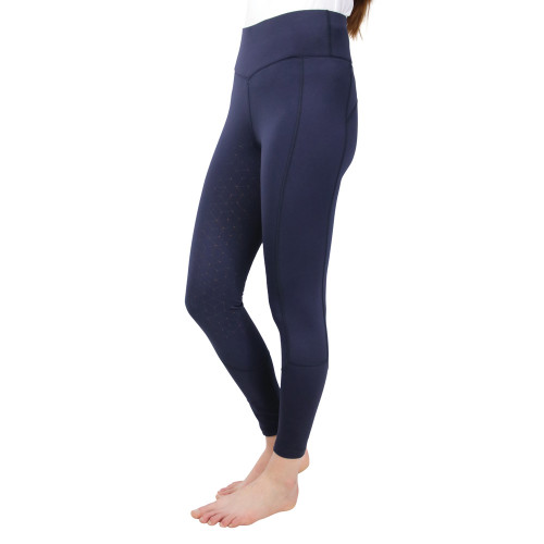 Hy Equestrian Soft Shimmer Brushed Riding Tights