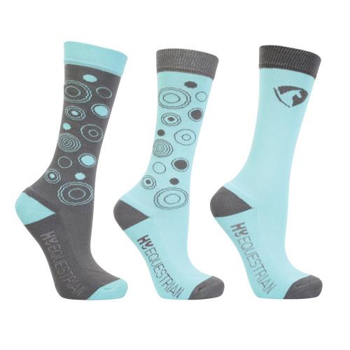 Hy Equestrian Dynamizs Ecliptic Socks (Pack of 3)