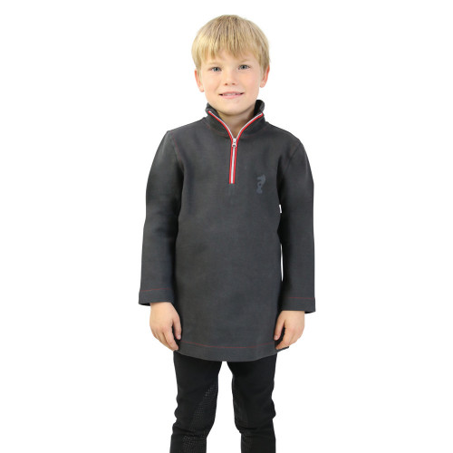 Tractor Collection Sweatshirt by Little Knight - Charcoal Grey/Red - 3-4 Years