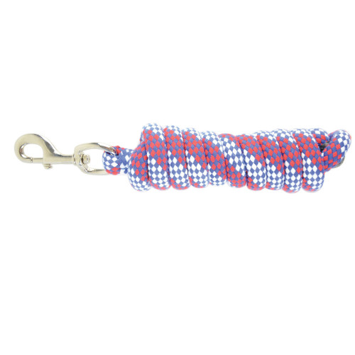Hy Universal Lead Rope - Red/White/Blue - 2 metres