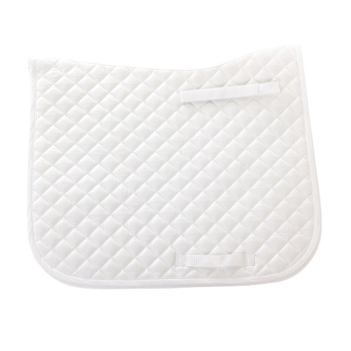 HySPEED Dressage Saddle Cloth in White in Pony