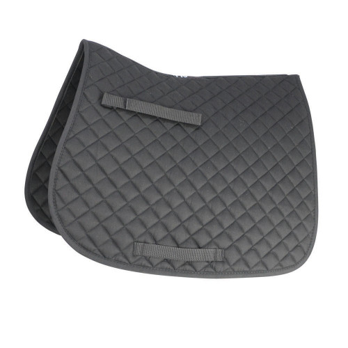 HySPEED Showjump Saddle Cloth Black Pony
