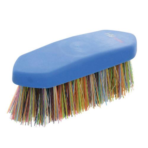 HySHINE Multi Colour Dandy Brush in Blue/Multi Colour