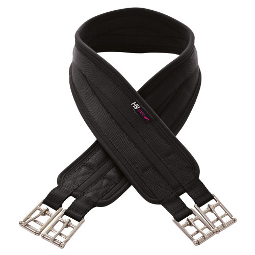 HyCOMFORT Cushion Girth in Black in 36''