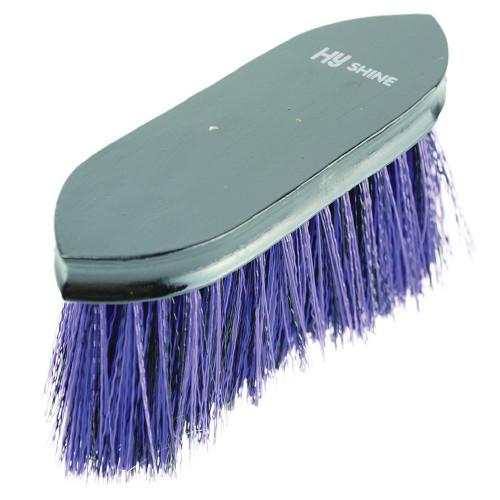 HySHINE Wooden Flick Dandy Brush in Black/Purple