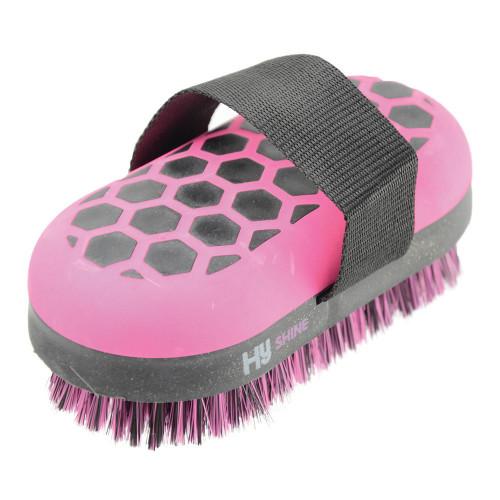 HySHINE Glitter Body Brush in Black/Pink