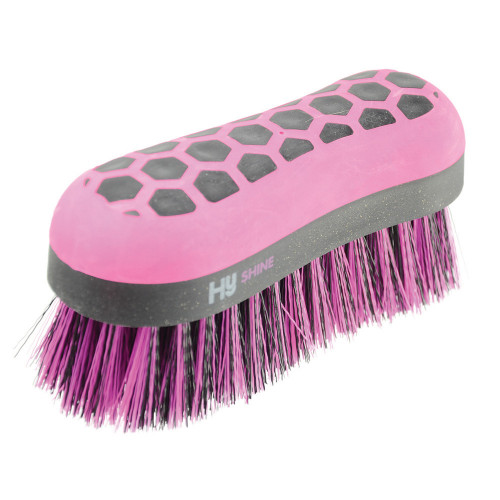 HySHINE Glitter Dandy Brush in Black/Pink