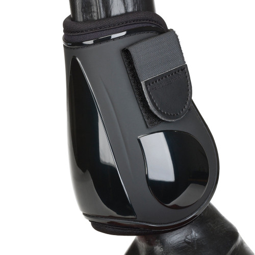 HyIMPACT Pro Fetlock Boots in Black in small outer