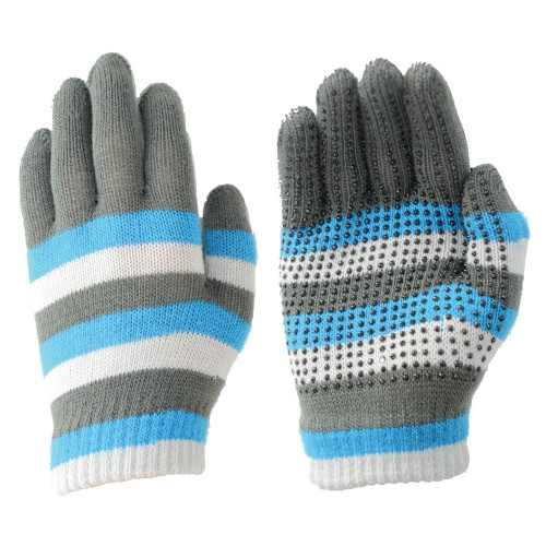 Hy5 Magic Striped Gloves in Blue/Grey