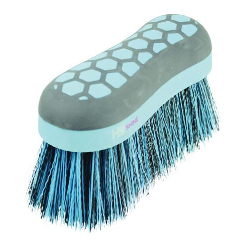 HySHINE Glitter Dandy Flick Brush in Navy/Blue
