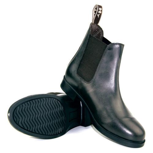 HyLAND Durham Jodhpur Boot in Black Childs 1