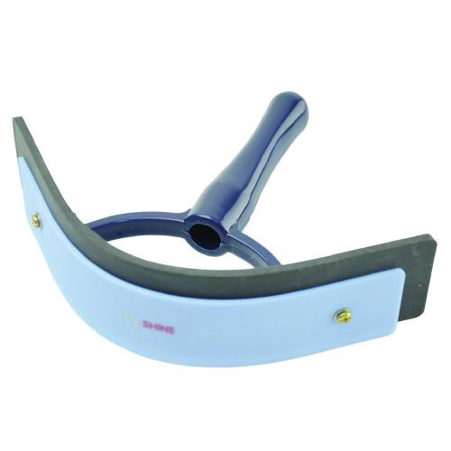 HySHINE Pro Groom Sweat Scraper in Navy/Light Blue