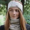 Hy Equestrian Meribel Cable Knit Headband