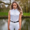 Hy Equestrian Katherine Ruffle Sleeveless Show Shirt