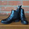 Hy Equestrian Beverley Synthetic Combi Leather Jodhpur Boot