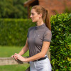 Hy Equestrian Maddie Mesh Sleeved Show Shirt