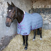 """DefenceX System 300 Stable Rug in Grey, Berry and Cool Blue in 5'6"""""""