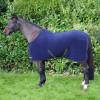 """StormX Original Snug Fleece Rug in Navy/Grey in 4'6"""""""