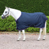 Hy Signature Lightweight 0g Turnout Rug in Navy, Red and Blue in 3'6