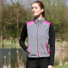 Silva Flash Two Tone Reflective Gilet by Hy Equestrian