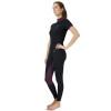 Hy Equestrian Knightsbridge Sports Shirt - Black/Fig - X Small