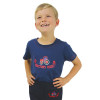 Hy Equestrian Tractors Rock T-Shirt - Navy/Red - 3-4 years
