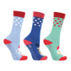 Hy Equestrian Children's Christmas Character Socks (Pack of 3)