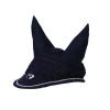 Hy Equestrian Synergy Fly Veil - Navy/Silver - Small Pony